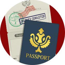 black border passport